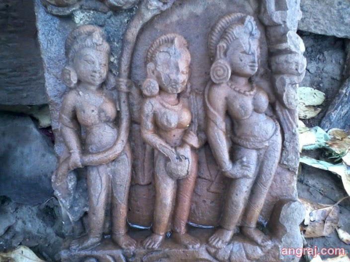Idols at Kalinjar UP
