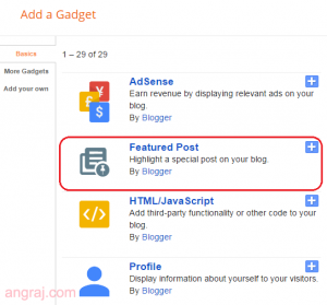 Blogger Featured Post Widget | Highlight That Matter The Most