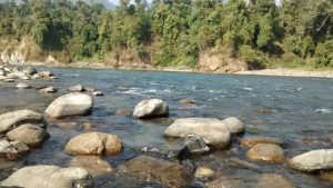 Kameng River at Bhalukpong